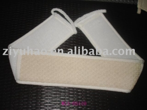 belt-strap back scrubber