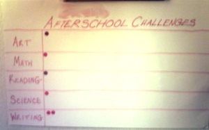 After School Challenges
