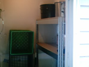Food storage closet #1