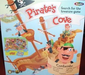 Pirates Cove Search for the treasure game