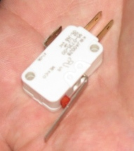 Cherry microswitch reverse