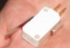 Cherry microswitch obverse