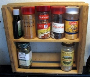 New spice rack project (before)