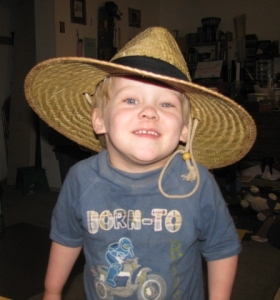 Jak Jr. and the new hat