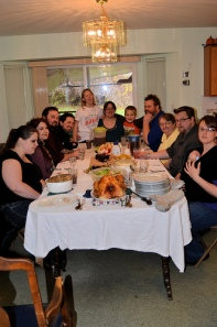 Thanksgiving with Cimmy's side of the family